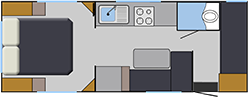 Balistic Family Bunks Layout