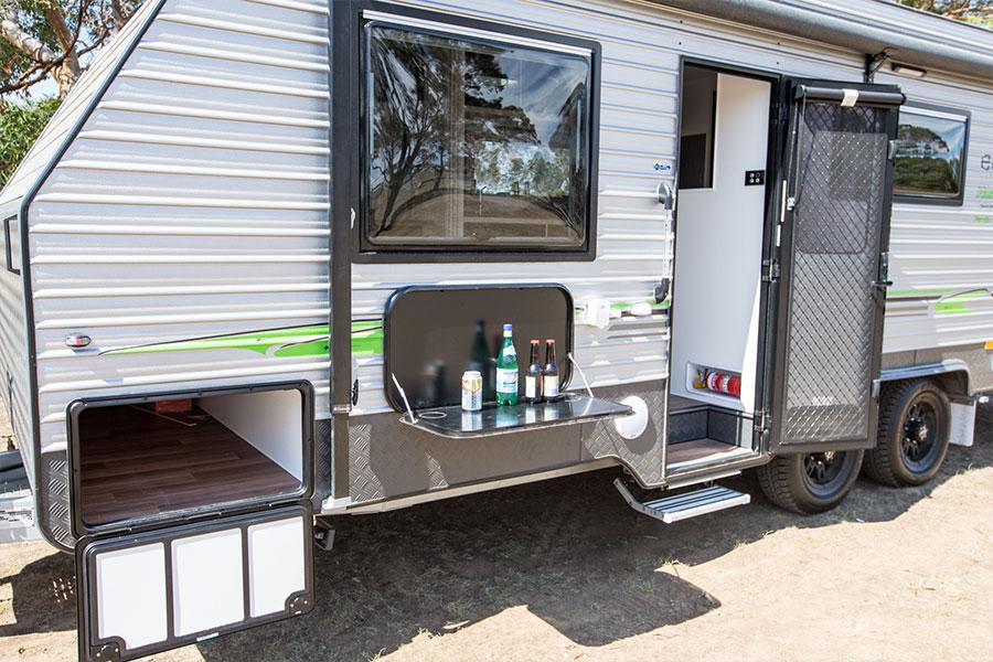 Elite Caravans   Hume Series 1 FV