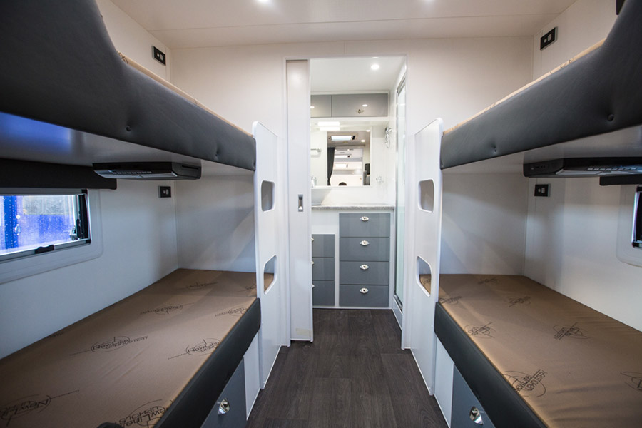 Custom Bunk Beds For 3