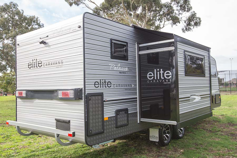 Elite Caravans Palazzo Slide Out Caravan