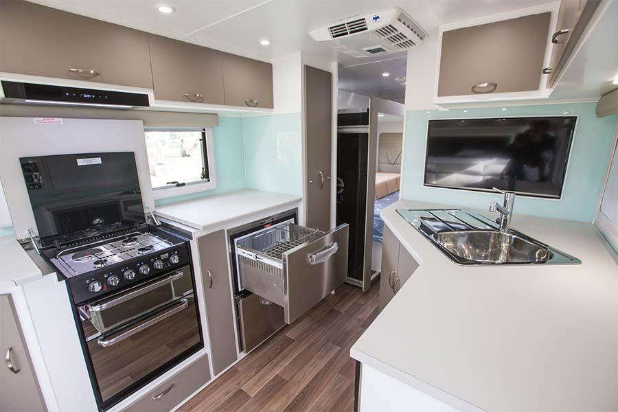 Elite Caravans Palazzo Slide Out Caravan