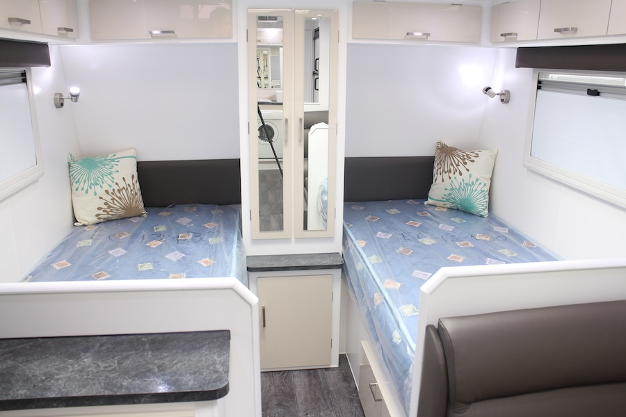 Perfect Theres A Caravan Review And Then Theres A CARAVAN REVIEW! Jurgens Caravans, Based In Melbournes Outer East, Is Bringing In A New Poptop Caravan Specifically Designed For Off Road Conditions  Of The Van Are Two Single Beds, One