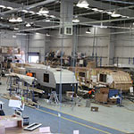 Elite Caravans Factory