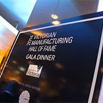 Victorian Manufacturing Hall Of Fame Award