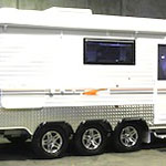 Murray Triple Axle Caravan