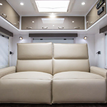 Luxurious Recliners In A Caravan