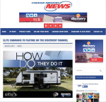 Carvan Industry News, Reports On The Man Cave Article