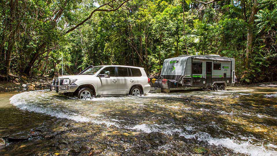 Balistic Off Road Caravan 1