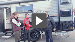 Dale Wood Picks Up His Elite Caravan